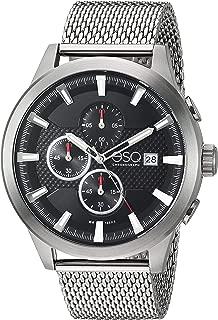 ESQ Men's Stainless Steel Mesh Bracelet Chronograph Watch FE/0224