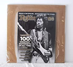 Rolling Stone Issue 1145 December 8, 2011 RARE JIMI HENDRIX COVER Special Issue 100 Greatest Guitarists of All Time