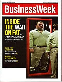 Business Week Magazine March 2008: Inside the War on Fat