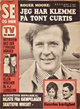 1972 - SE OG HOR Vintage Danish Magazine - Roger Moore & Tony Curtis New Series - Johnny Weissmuller as Tarzan - Oil Dreams - Nudes - Collectible - Rare