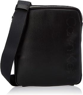 Calvin Klein Punched Mini Reporter Bag, Black