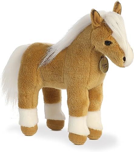 minoristas en línea Aurora World Miyoni Palomino Horse Plush Plush Plush by Aurora World  Vuelta de 10 dias