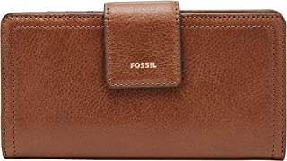 FOSSIL Women's Logan Clutch, Brown, One Size