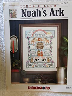 Noah's Ark Counted Cross Stitch Pattern Craft Book (#153)