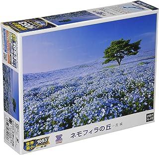 1053ピース ジグソーパズル ネモフィラの丘-茨城 スーパースモールピース(26x38cm)