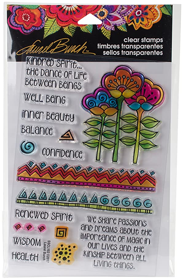 Stampendous Laurel Burch Stamps Kindred Borders
