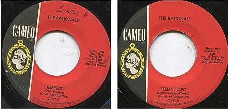 respect / feelin' lost 45 rpm single