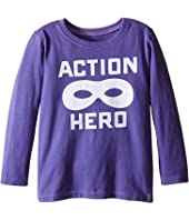 Life is Good Kids Action Hero Mask Long Sleeve Tee (Toddler)