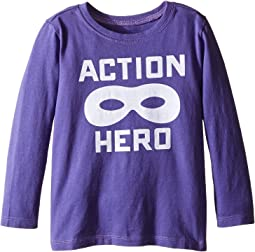 Action Hero Mask Long Sleeve Tee (Toddler)