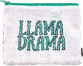 Style.Lab Llama Magic Sequin Reveal Pouch Drama