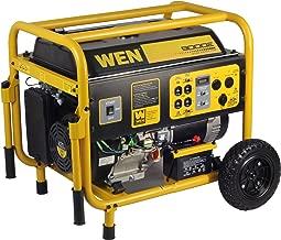WEN 56877, 7000 Running Watts/9000 Starting Watts, Gas Powered Portable Generator