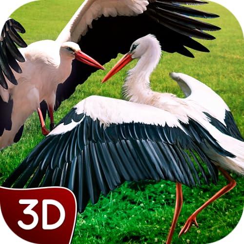 Ultimate Flying Stork Survival Simulator: Wildlife Coastal Animal Adventure