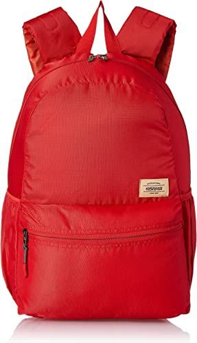 American Tourister Copa 23 Ltrs Red Casual Backpack (FU9 (0) 00 001)