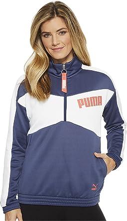 PUMA - Archive T7 1/2 Zip Crew