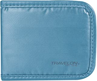 Travelon Luggage Safe Id Metro Card Holder, Teal, One Size