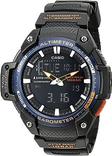 Casio Men's SGW-450H - 2bcf doble Sensor análogo-Digital Negro Reloj