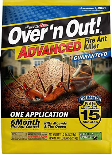 2021 Over 'N Out 100515674 Advanced Fire Ant new arrival online Killer Granules, 11.5 LBS, Natural sale