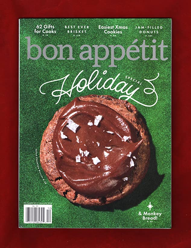 Bon Appetit December/January 2017 Issue