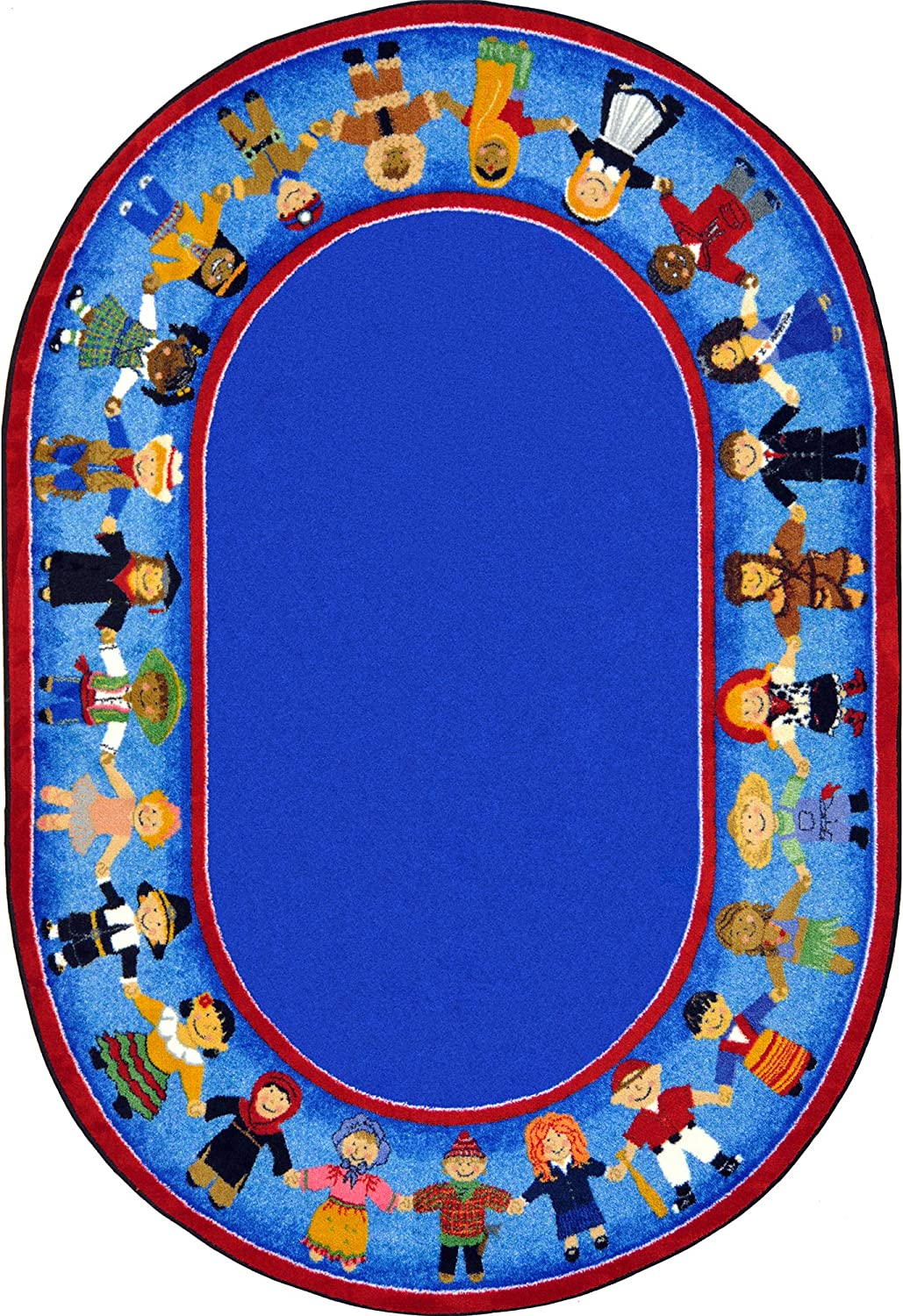 Joy Carpets Kid Essentials Early Topics on TV Children Childhood of Ranking TOP19 Oval Many