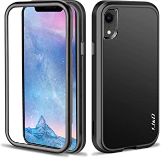 J&D Case Compatible for iPhone XR Case, Heavy Duty [ArmorBox] [Triple-Layer] [Matte Surface] Hybrid Shock Proof Protective Rugged Case for Apple iPhone XR Case - [Not for iPhone X/iPhone Xs/Xs Max]