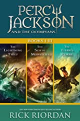 Percy Jackson and the Olympians: Books I-III: Collecting The Lightning Thief, The Sea of Monsters, and The Titans' Curse Kindle Edition