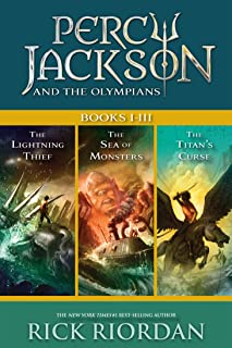 Percy Jackson and the Olympians: Books I-III: Collecting The Lightning Thief, The Sea of Monsters, and The Titans` Curse