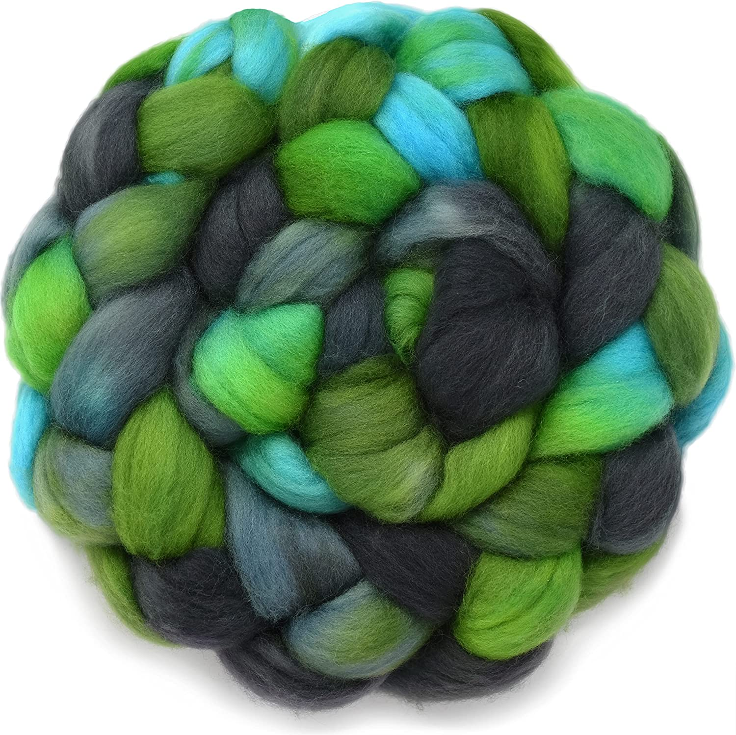 DOUBLE DIP - Colorful Award-winning store Artisan Wool 67% OFF of fixed price Spinning and for Roving Felti