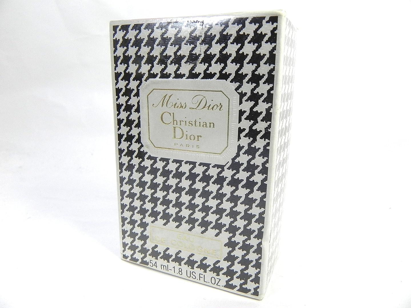 スリットアクセス胃Christian Dior クリスチャンディオール ミスディオール Miss Dior オードゥコロン EDC 54ml ボトルタイプ [並行輸入品]