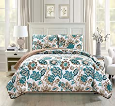 Best teal and white bedspread Reviews
