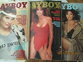 Playboy Magazine 1982 Lot Entire Year 12 Issues January Through December