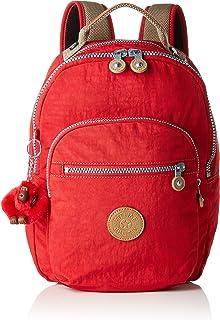 Kipling CLAS SEOUL S Zaino, 34 cm, 10 Litri, Rosso (True Red C)