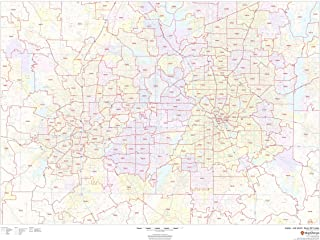Dallas - Fort Worth, Texas Zip Codes - 48