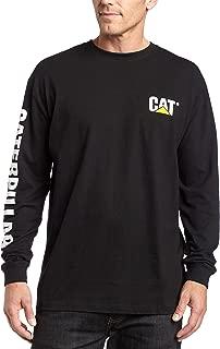 Caterpillar Men's Trademark Banner Long Sleeve T-Shirt...