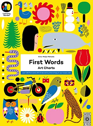The Learning Garden: First Words: Art Charts