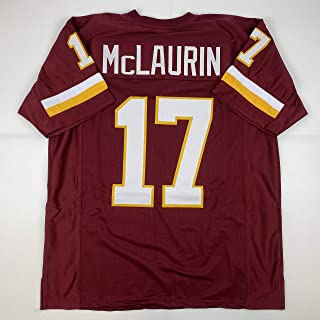 Unsigned Terry McLaurin Washington Burgundy Custom Stitched Football Jersey Size XL New No Brands/Logos