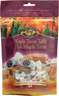 L B Maple Treat Maple Treat Taffy, 155gm/5.46oz {Imported from Canada}