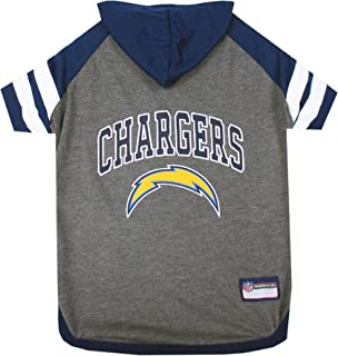 NFL HOODIE TEE for DOGS & CATS. | Football Dog Hoody Tee Shirt available in all 32 NFL Teams! | Cuttest Sports Hooded Pet Shirt! Available in LARGE, MEDIUM, SMALL & X-SMALL with your favorite Team Name!