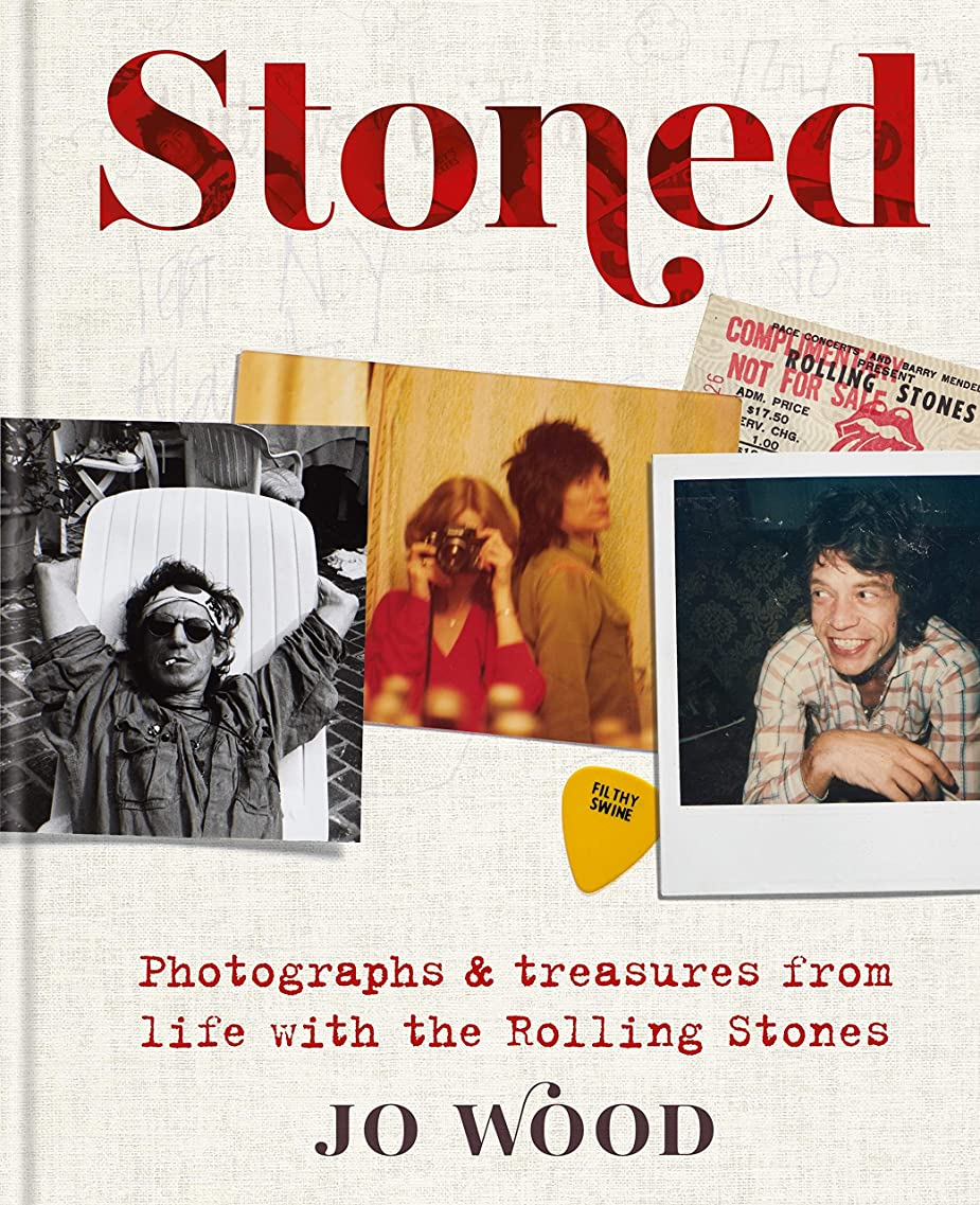予防接種するポーズ紫のStoned: Photographs and treasures from life with the Rolling Stones (English Edition)