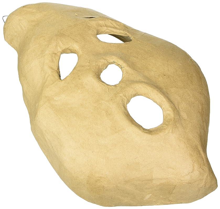 Craft Ped Paper CPLMB0013 Mache Mask Ghost Kraft