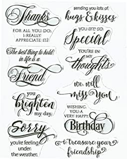 Penny Black Penny Black Clear Stamps 5-inch x 7-inch-Special Thoughts, Other, Multicoloured