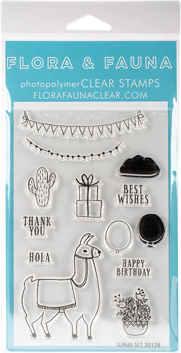 Flora & Fauna 20128 Clear Stamps 4