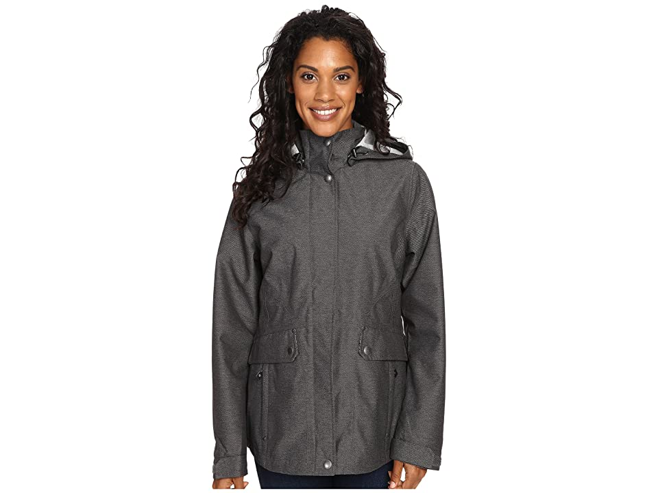 Royal Robbins Mobilizer Waterproof Trench (Charcoal) Women