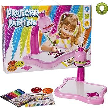 PlayGo - Proyector dibujo con luz y accesorios (46423): Amazon.es ...