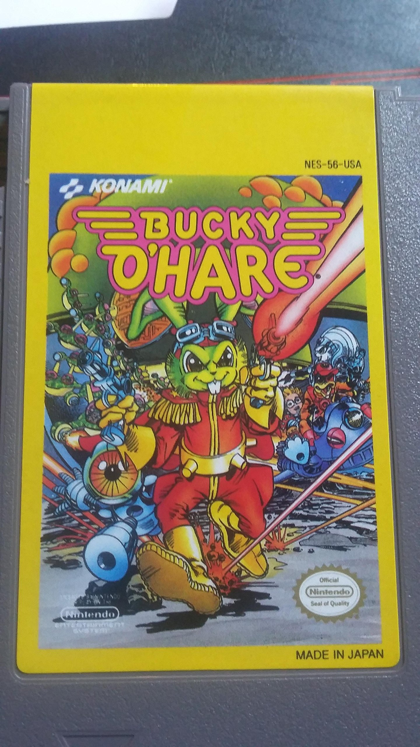 Amazon Com Bucky O Hare Nintendo Nes Video Games