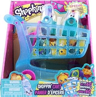 Shopkins New Shopping Shoppin Cart XL 2 Exclusive Season 3 Push N Play Holds 60