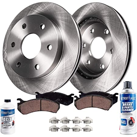 2005 2006 2007 Fits Nissan Pathfinder OE Replacement Rotors w//Ceramic Pads R