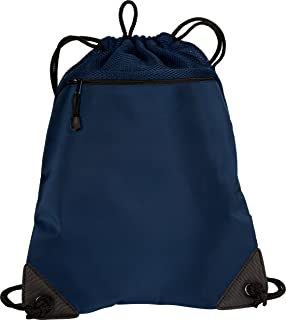 luggage-and-bags Port Authority Improved Cinch Pack OSFA Navy