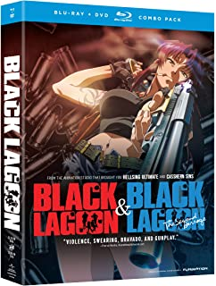 Black Lagoon - Season 1 & 2 (Blu ray + DVD) [Blu-ray]