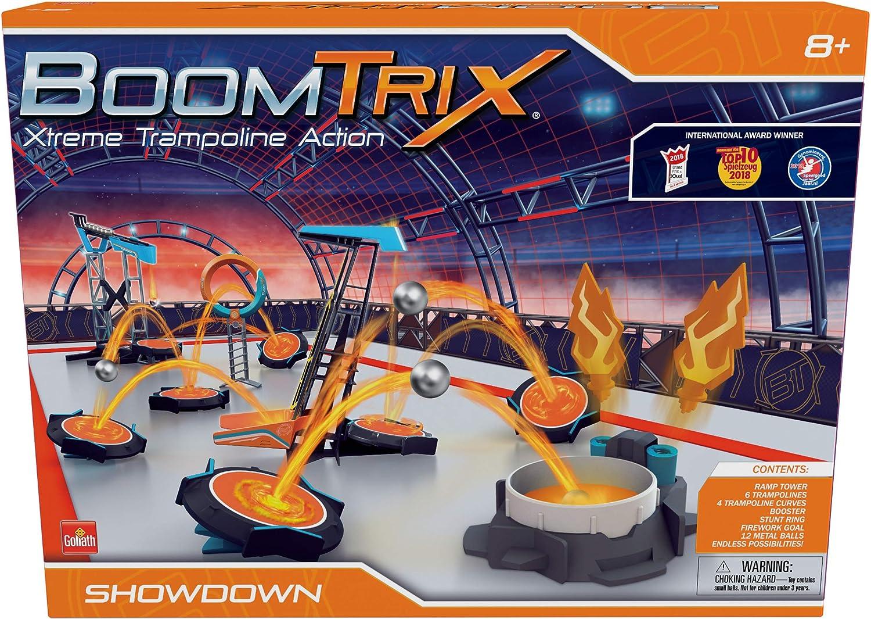 BoomTrix Showdown GL60104, Xtreme Trampoline Acción para niños Mayores de 8 años, Multicolor (Vivid Toys