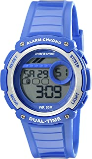 Timex Unisex TW5K85000M6 Marathon Digital Display Quartz Blue Watch